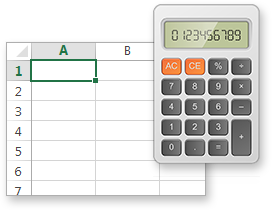 Performing calculations using spreadsheet formulae is integral to the ELN solution
